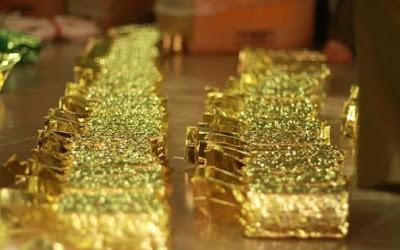 Chè đóng hút chân không túi vàng